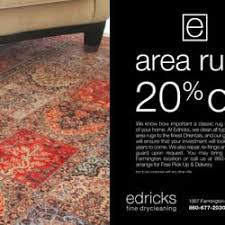 Area Rug Cleaning Ct Edricks Drycleaning Cleaning 1007 Farmington Ave