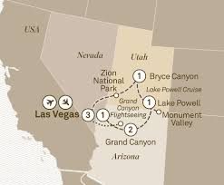 Grand Canyon Map Usa by Grand National Parks U0026 Canyonlands Scenic