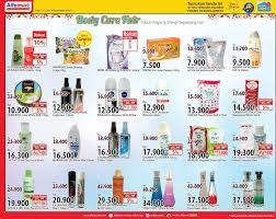 Parfum Di Alfamart alfamart care fair beli 2 gratis 1 harga spesial dan gebyar
