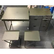 caisse de bureau original authentique us army field desk headquarter bureau
