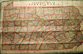 Map Of Pennsylvania Towns by Pennsylvania In Early Pocket Maps