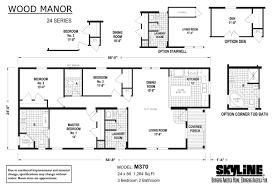 wood manor m370 by skyline homes floor plan wood manor m370 layout