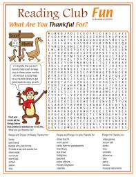 what are you thankful for thanksgiving word search puzzle by