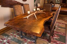 Living Edge Dining Table Rustic Table Live Edge Table Wood Table Littlebranch Farm