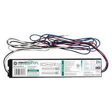 ge electronic ballast for 2 or 1 lamp compact fluorescent light