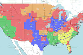 Jacksonville Map Jaguars Vs Packers Week 1 Tv Viewing Map On Fox Big Cat Country