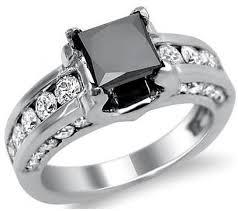 princess cut black engagement rings black ring beautiful board