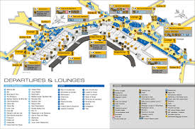 Ohare Airport Map Ams Amsterdam Schiphol International Airport Page 2 Amsterdam