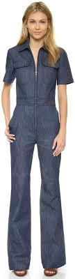 jean one jumpsuit m i h denim jumpsuit 375 liked on polyvore
