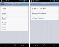 ios 7 keyboard apk emoji keyboard german dict apk version 1 1