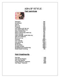 ada a unisex beauty salon
