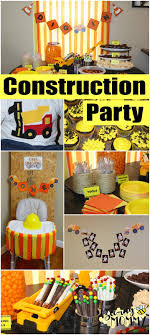 construction party ideas bee ing construction birthday party