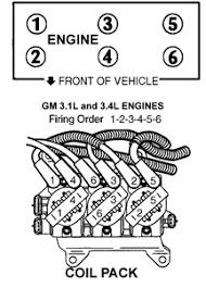 solved firing order on a pontiac grand am gt 3400sfi fixya