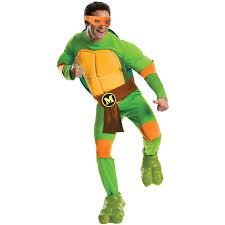 michelangelo ninja turtle costume for adults deluxe costume