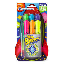mr sketch 1938416 scented markers intergalactic neon chisel tip