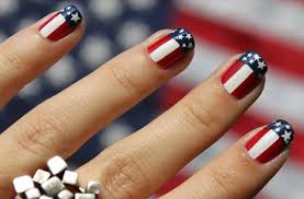 diy red white and fab nails fabulousarizona com