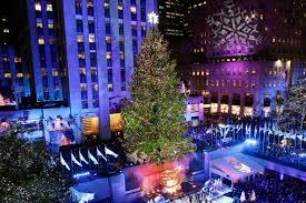 big christmas tree in nyc christmas lights decoration
