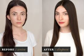 ultra glaze for hair hair glossing before and after silke von rolbiezki coiffure