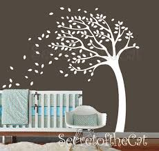 Tree Decal For Nursery Wall Style Handmade Wall Decal Nursery Tree Specification Supplied