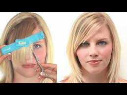diamond face hairstyle for over 50 how to choose the right bangs for your face shape youtube
