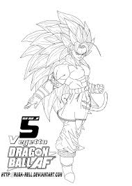 ssj5 vegetto by ruga rell on deviantart