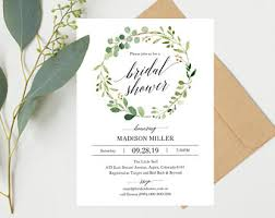 for bridal shower bridal shower invite etsy