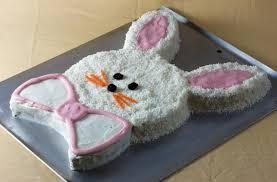 easter bunny cake ideas foodista easy easter bunny cake