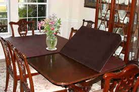 dining table cover pad brilliant dining room table protector pads 15822 with regard to