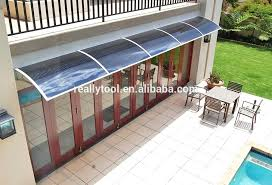 Outdoor Window Awnings And Canopies Diy Metal Window Awnings Curved Slats Aluminium Diy Exterior