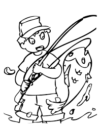 fishing coloring pages eson me