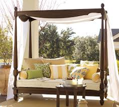 Outdoor Day Bed by Outdoor Daybed With Canopy Home Design By Fuller