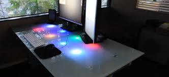 led bureau diy éclairer bureau avec des led pour notifier la réception d