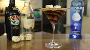 chocolate caramel martini double chocolate smores martini youtube