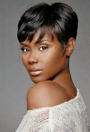 black women short grey hair cute short styles for black women