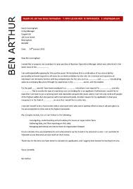 director of operations cover letter sample 5618