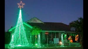 green lights led white and icicle with