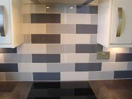 Black And White Kitchen Tiles Modern Kitchen Gray And White Painted Oak Cabinets Featured On