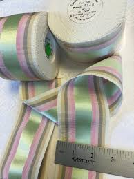 grosgrain ribbon by the yard vintage gros gain ribbon made in grosgrain ribbon trim