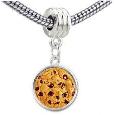 bracelet charms ebay images Chocolate chip cookie photo european bead dangle charm ebay jpg
