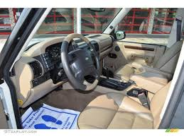 range rover 1999 bahama beige interior 1999 land rover discovery series ii photo