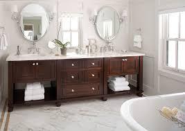 Open Shelf Bathroom Vanities Open Shelf Bathroom Vanity Bathroom Contemporary With Baseboards