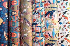 comic wrapping paper nobrow press wrapping paper preview