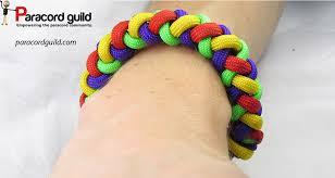 paracord bracelet braid images Round braid paracord bracelet paracord guild jpg