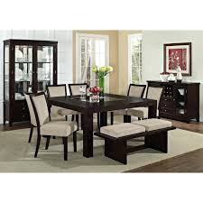 oriental dining room set articles with chicago two tone dining table tag fascinating two