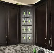 stained glass windows for kitchen cabinets custom stained glass cabinets and windows create a kitchen
