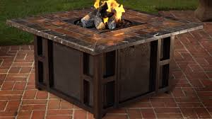 Propane Fire Pit Patio Sets Patio Furniture With Gas Fire Pit Table Fpudining