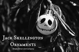 skellington ornament tutorial simple simon and company