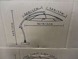 5 Foot Patio Umbrella by 11 Foot Patio Umbrella Costco Decorate Ideas Wonderful At 11 Foot