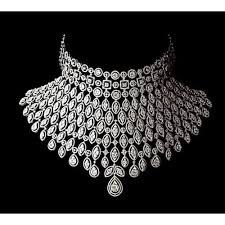 picture diamond necklace images Real diamond necklace at rs 1200000 piece diamond necklace id jpg