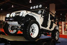 2011 jeep wrangler unlimited price white jeep wrangler sema 2011 drivingscene